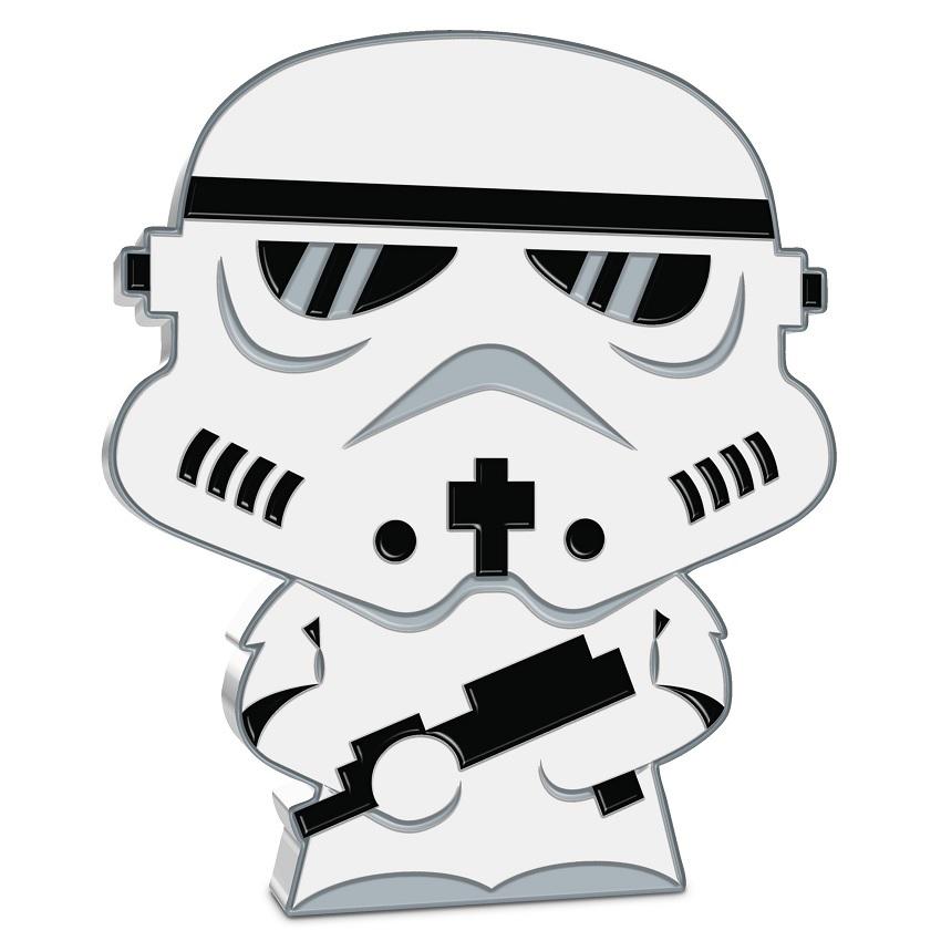 (W160.200.2020.30-01016) 2 Dollars Niue 2020 1 oz Proof silver - Chibi Stormtrooper Reverse (zoom)