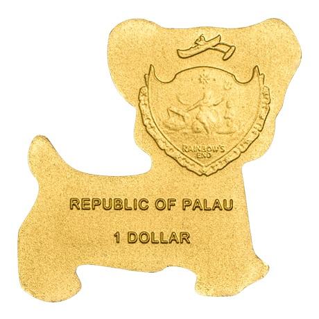 (W168.1.1.D.n.d._2013_.26501) 1 Dollar Chien n.d. (2013) - Or BU Avers
