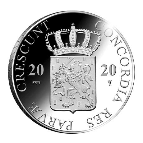 (W172.Ducat.2020.Ag.1) 1 Ducat Château Muiderslot 2020 - Argent BE Avers