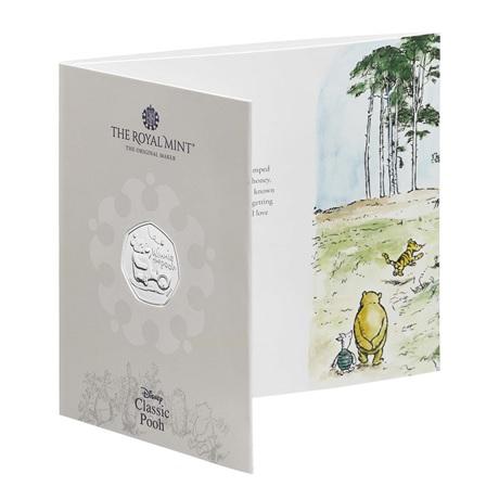 (W185.50.P.2020.UK20WPBU) 50 Pence Winnie l'ourson 2020 BU (packaging)