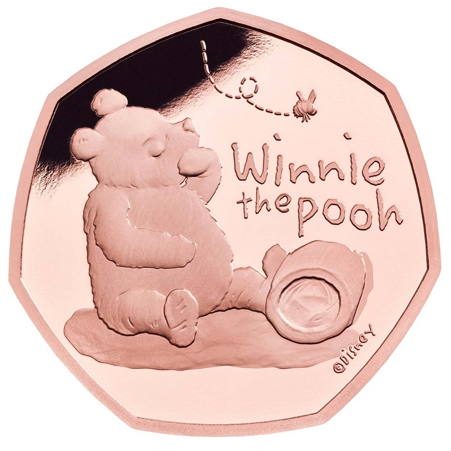 (W185.50.P.2020.UK20WPGP) 50 Pence Winnie the Pooh 2020 - Proof gold Reverse (zoom)