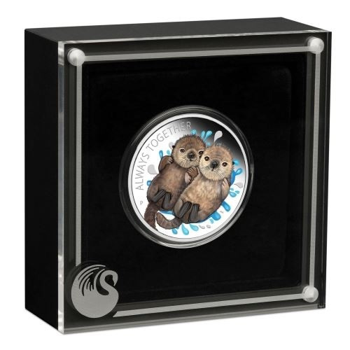(W228.1.50.C.2020.20C26AAA) 50 Cents Tuvalu 2020 0.50 oz Proof Ag - Always together (case) (zoom)