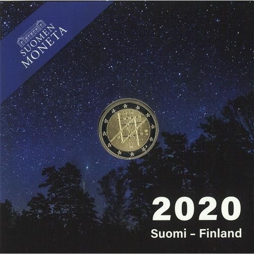 (EUR06.ComBU&BE.2020.200.BE.COM1) 2 euro Finland 2020 Proof - University of Turku (packaging) (zoom)