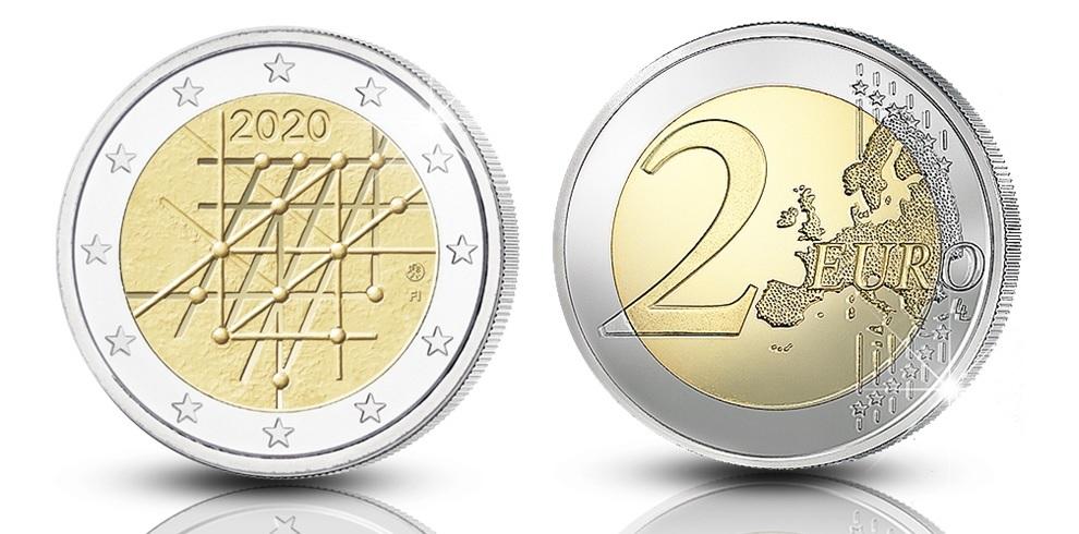 (EUR06.ComBU&BE.2020.200.BE.COM1) 2 euro Finland 2020 Proof - University of Turku (zoom)