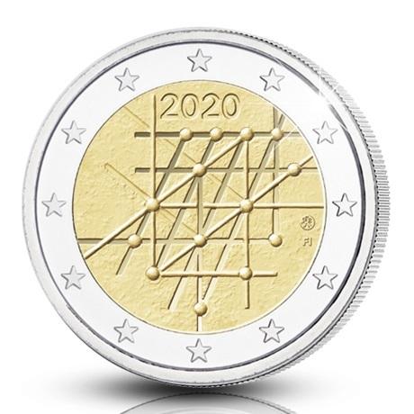(EUR06.ComBU&BE.2020.200.BE.COM1) 2 euro Finlande 2020 BE - Université de Turku Avers