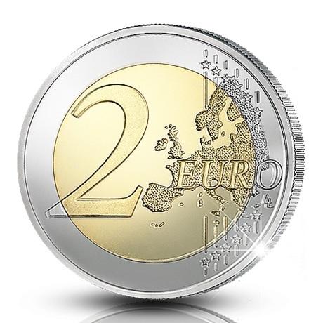 (EUR06.ComBU&BE.2020.200.BE.COM1) 2 euro Finlande 2020 BE - Université de Turku Revers