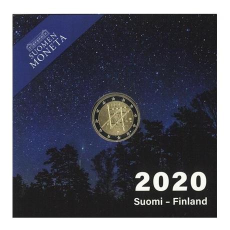 (EUR06.ComBU&BE.2020.200.BE.COM1) 2 euro Finlande 2020 BE - Université de Turku (packaging)