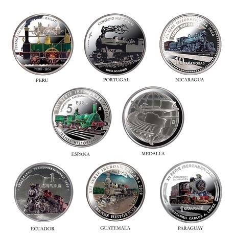 (LOT.134.coin.set.2020.32907020) Coffret argent BE Trains historiques 2020 Revers