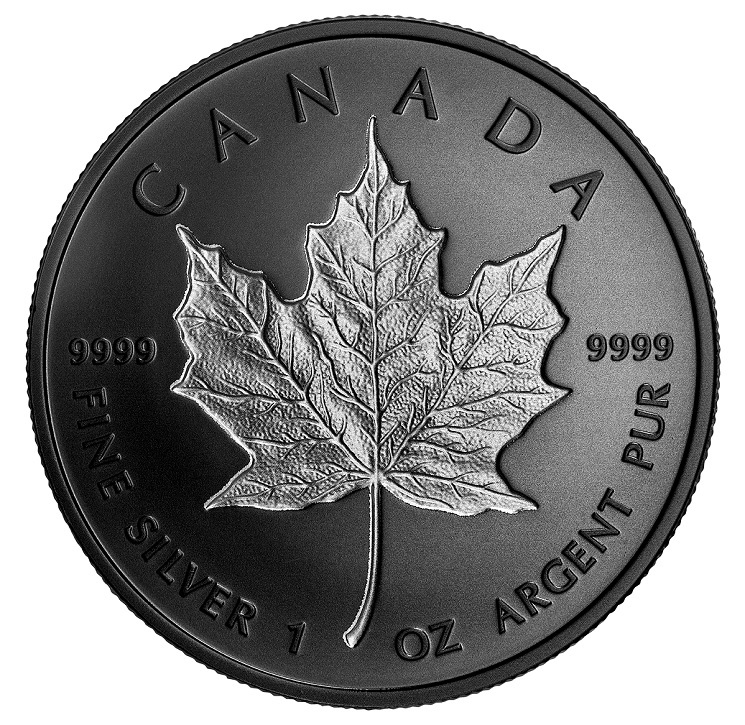 (W037.20.D.2020.177825) 5 Dollars Canada 2020 1 oz Proof silver - Maple leaf Reverse (zoom)