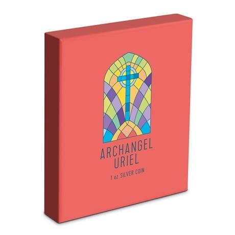 (W160.200.2021.30-00995) 2 Dollars Niue 2021 1 once Ag BE - Archange Uriel (boîte)