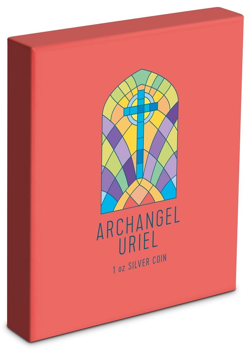 (W160.200.2021.30-00995) 2 Dollars Niue 2021 1 oz Proof Ag - Archangel Uriel (box) (zoom)