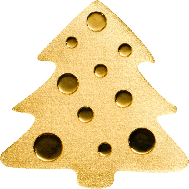 (W168.1.1.D.n.d._2020_.26986) 1 Dollar Christmas tree 2020 - BU gold Reverse (zoom)