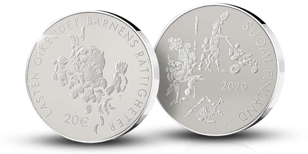 (EUR06.ComBU&BE.2020.2000.BE.COM2) 20 euro Finland 2020 Proof silver - Mannerheim League (zoom)