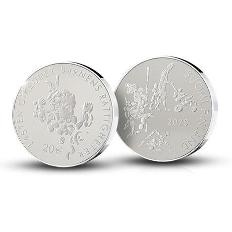 (EUR06.ComBU&BE.2020.2000.BE.COM2) 20 euro Finlande 2020 argent BE - Ligue Mannerheim