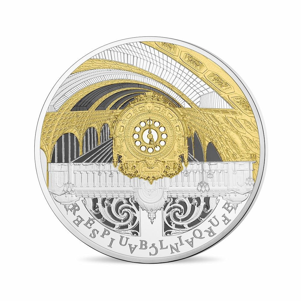 (EUR07.ComBU&BE.2016.10041299780000) 10 euro France 2016 Proof Ag - Orsay Museum, Petit Palais Obverse (zoom)