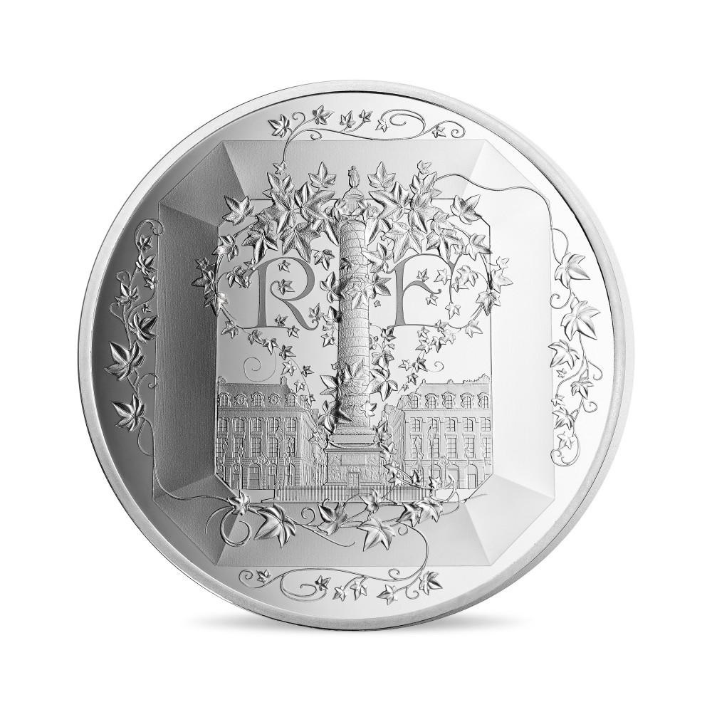(EUR07.ComBU&BE.2018.10041318090000) 50 euro France 2018 Proof silver - Boucheron Obverse (zoom)