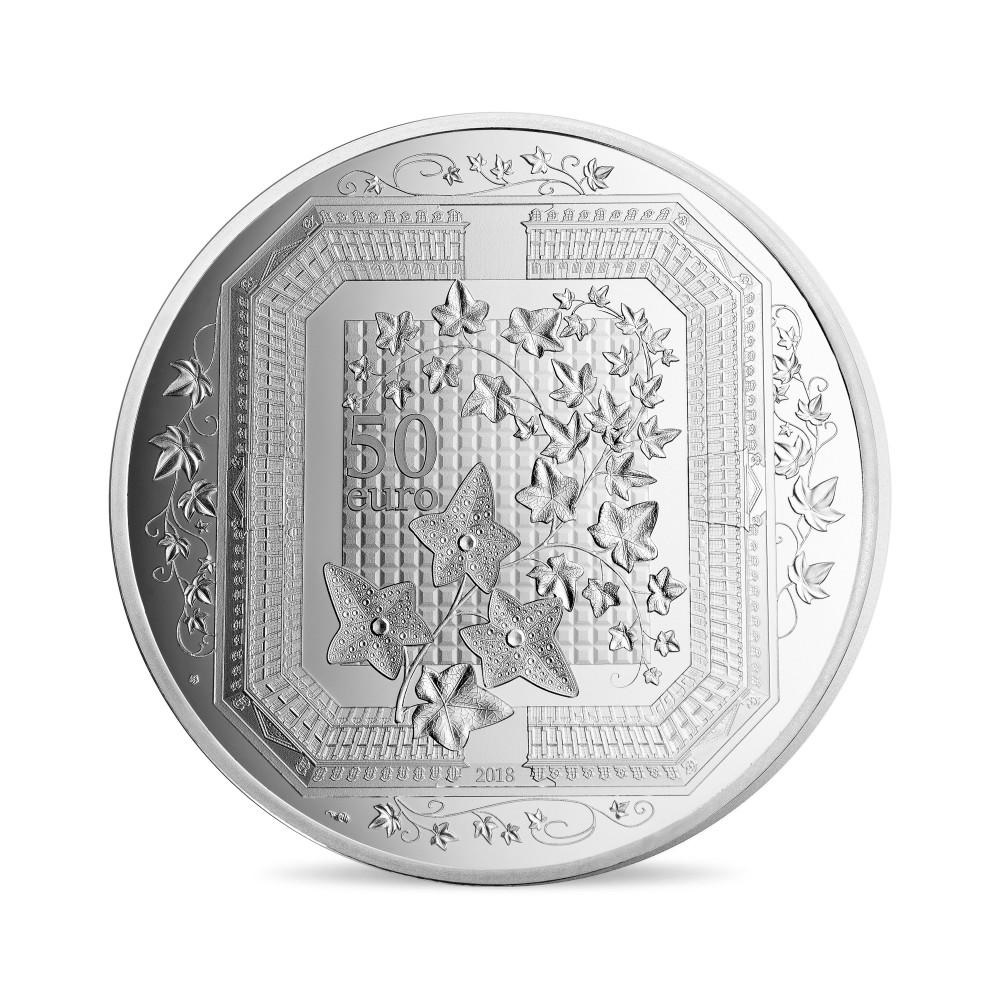 (EUR07.ComBU&BE.2018.10041318090000) 50 euro France 2018 Proof silver - Boucheron Reverse (zoom)