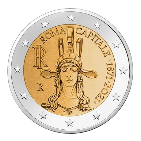 2 euro commémorative Italie 2021 - Rome