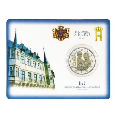 2 euro commémorative Luxembourg 2020 BU - Prince Charles
