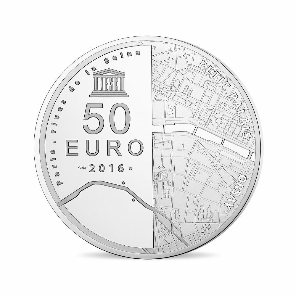 (EUR07.ComBU&BE.2016.10041299770000) 50 euro France 2016 Proof Ag - Orsay Museum, Petit Palais Reverse (zoom)