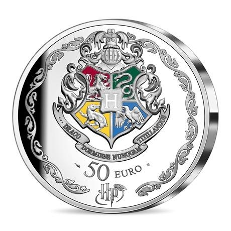(EUR07.ComBU&BE.2021.10041344310000) 50 euro France 2021 argent BE - Harry Potter Revers