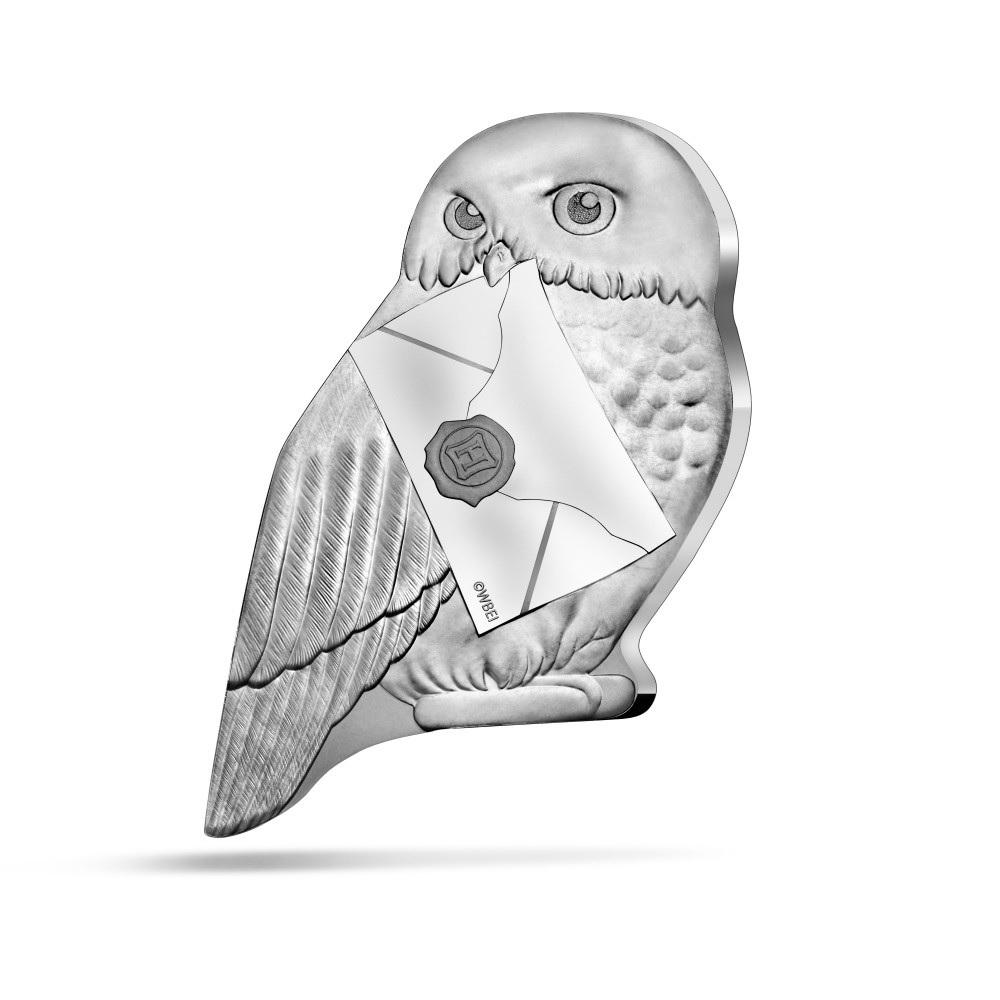 (EUR07.ComBU&BE.2021.10041344330000) 10 euro France 2021 Proof silver - Harry Potter (Hedwig) Obverse (zoom)