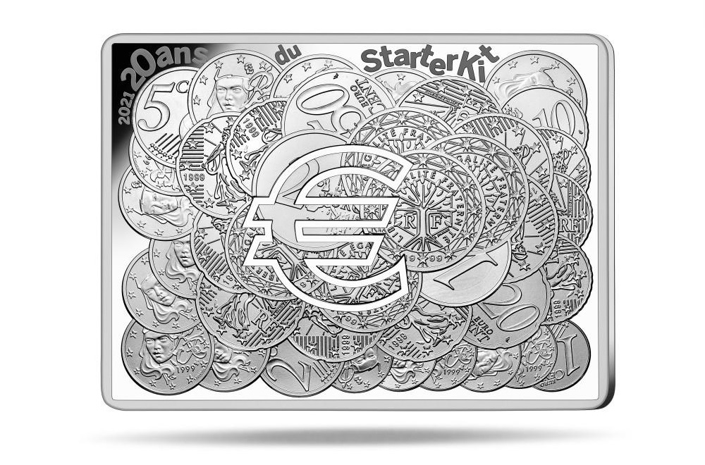 (EUR07.ComBU&BE.2021.10041356210000) 10 euro France 2021 Proof silver - Sower (Starter Kit) Reverse (zoom)