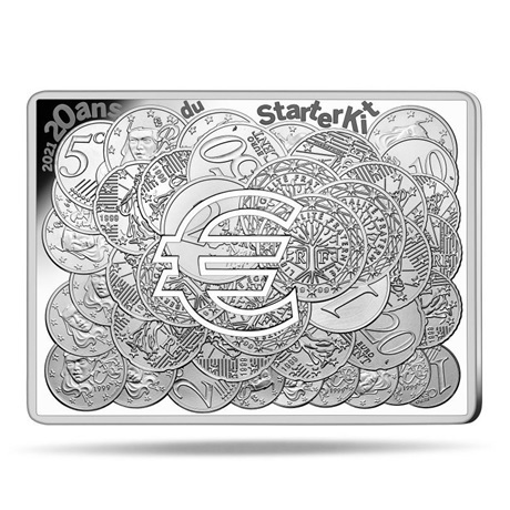 (EUR07.ComBU&BE.2021.10041356210000) 10 euro France 2021 argent BE - Semeuse (Starter Kit) Revers