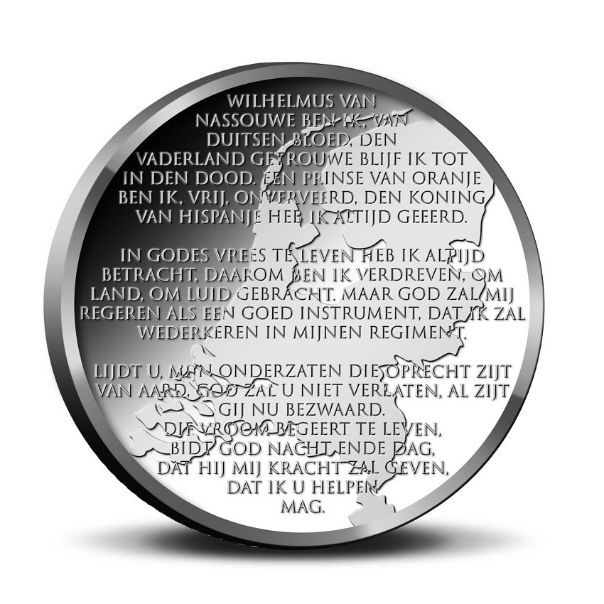 (EUR14.CofBU&FDC.2020.0109281) BU coin set Netherlands 2020 - Peace and freedom (medal reverse) (zoom)