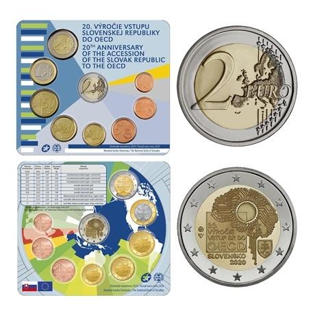 (EUR17.CofBU&FDC.2020.501462) Coffret BU Slovaquie 2020 (OCDE) (intérieur)