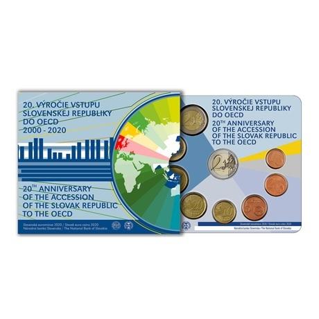 (EUR17.CofBU&FDC.2020.501462) Coffret BU Slovaquie 2020 (OCDE)