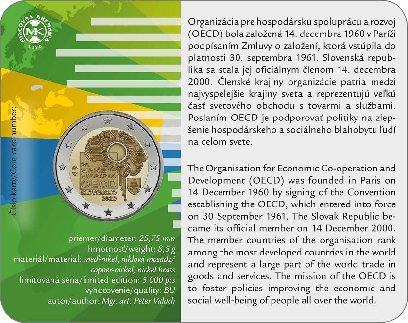 (EUR17.ComBU&BE.2020.501463) 2 euro Slovakia 2020 BU - OECD Back (zoom)