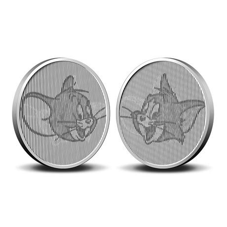 (MED14.Méd.KNM.2020.0110357) Médaille cupro-nickel- 80ème anniversaire de Tom et Jerry Revers