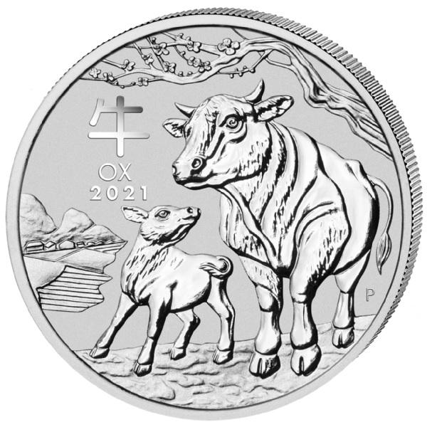 (W017.1.D.2021.1.oz.Ag.5) 1 Dollar Australia 2021 1 oz silver - Year of the Ox Reverse (zoom)