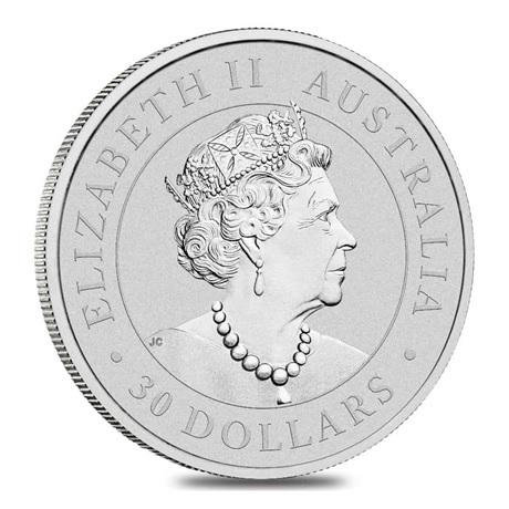 (W017.30.D.2021.1.kg.Ag.1) 30 Dollars Australie 2021 1 kg argent BU - Koala Avers