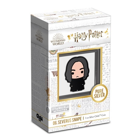 (W160.200.2021.30-01021) 2 Dollars Niue 2021 1 once Ag BE - Chibi Severus Rogue (packaging)