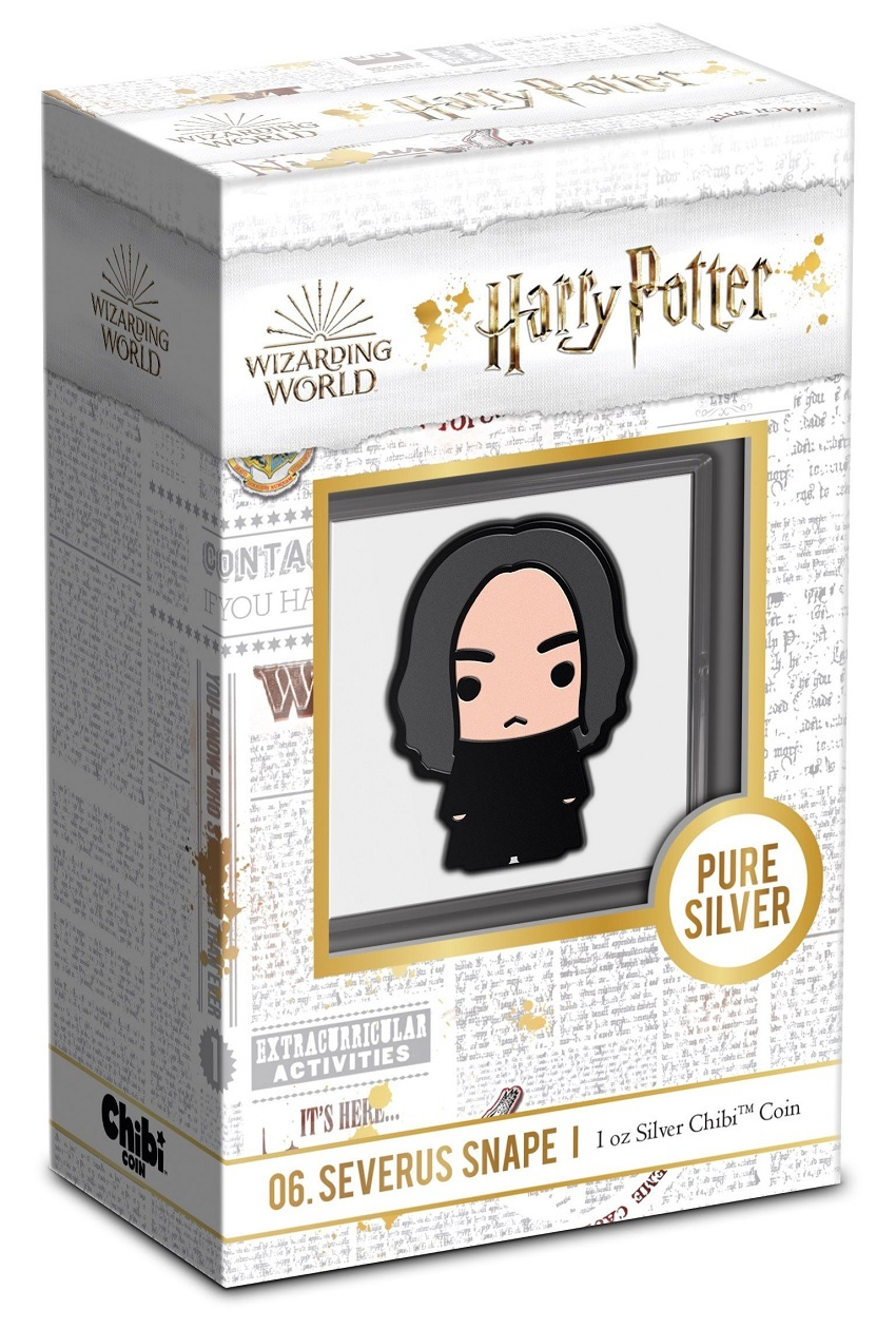 (W160.200.2021.30-01021) 2 Dollars Niue 2021 1 ounce Proof silver - Chibi Severus Snape (packaging) (zoom)