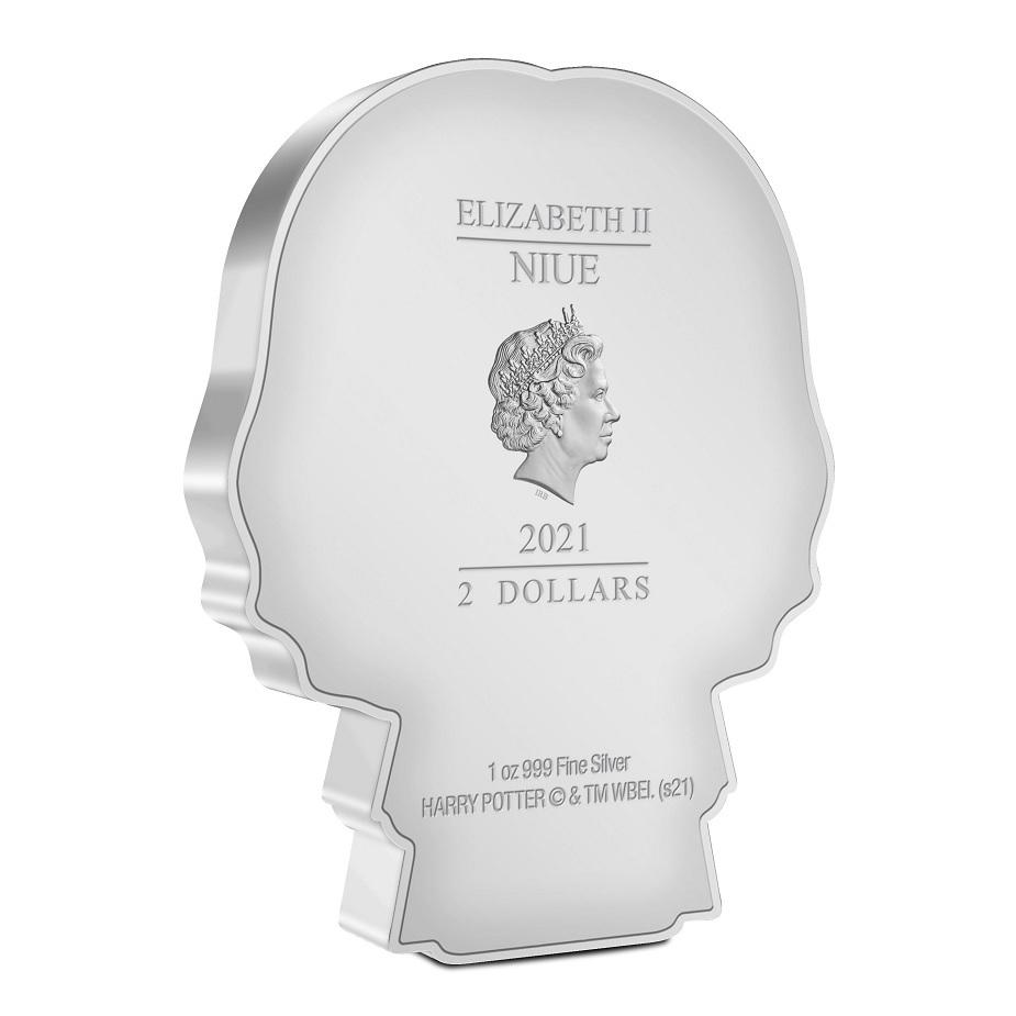 (W160.200.2021.30-01021) 2 Dollars Niue 2021 1 oz Proof silver - Chibi Severus Snape Obverse (zoom)