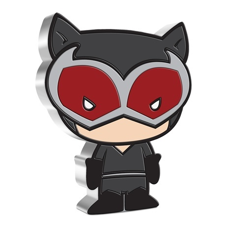 (W160.200.2021.30-01039) 2 Dollars Niue 2021 1 once argent BE - Chibi Catwoman Revers