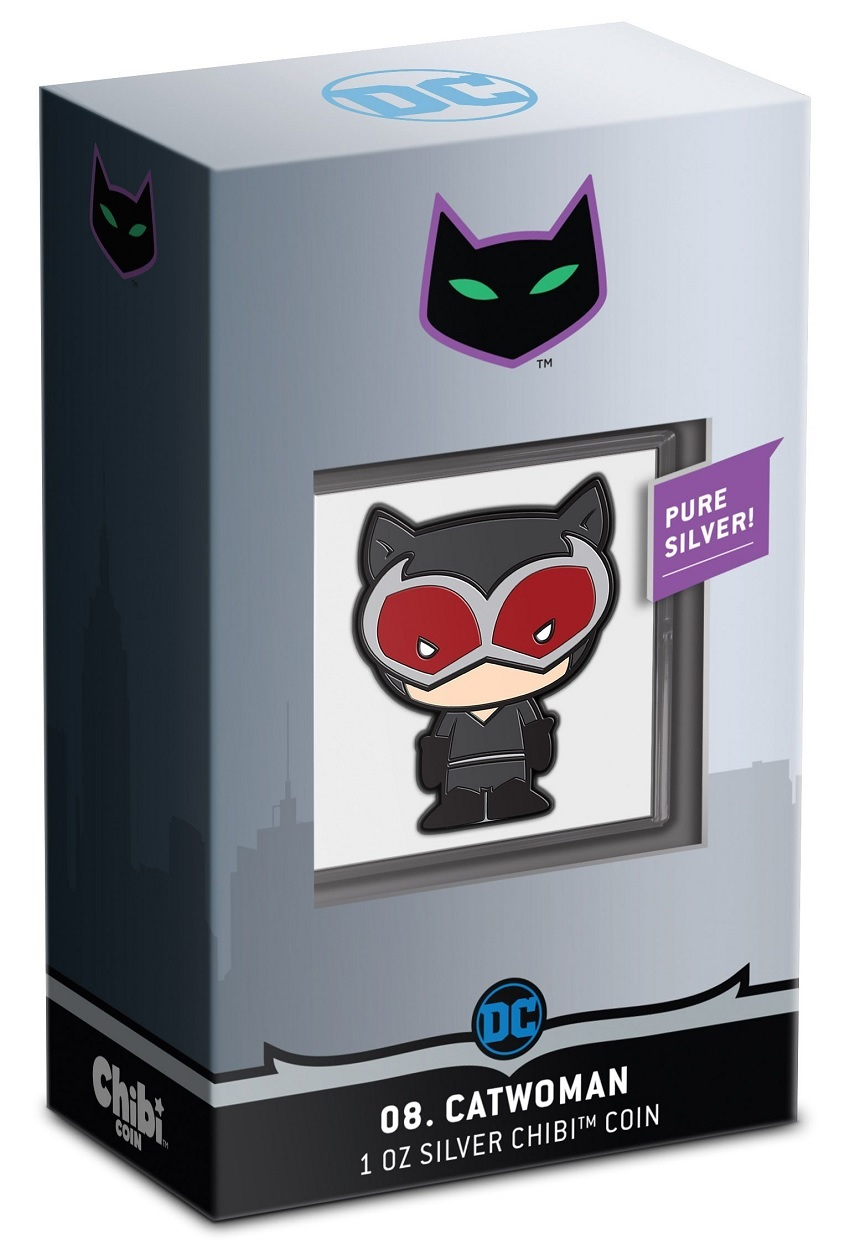 (W160.200.2021.30-01039) 2 Dollars Niue 2021 1 ounce Proof silver - Chibi Catwoman (packaging) (zoom)