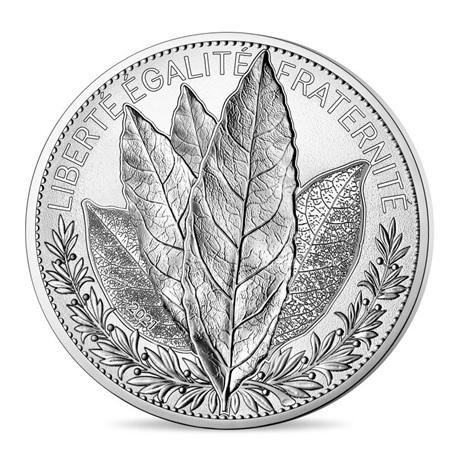 (EUR07.10000.2021.10041355370001) 100 euro France 2021 argent - Laurier Avers