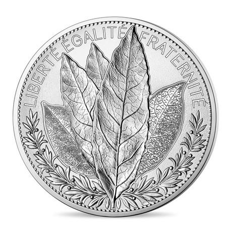 (EUR07.2000.2021.10041355380000) 20 euro France 2021 argent - Laurier Avers