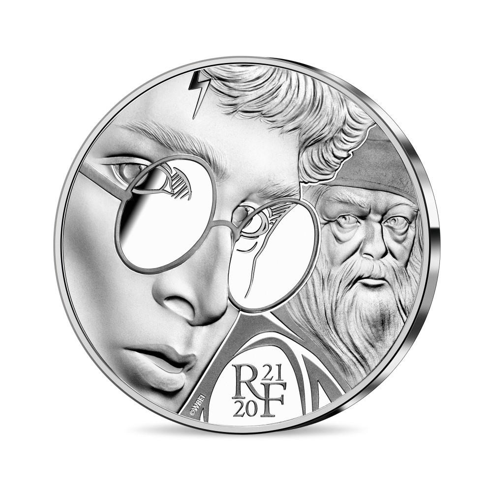 (EUR07.ComBU&BE.2021.10041344320000) 10 euro France 2021 Proof silver - Harry Potter Obverse (zoom)