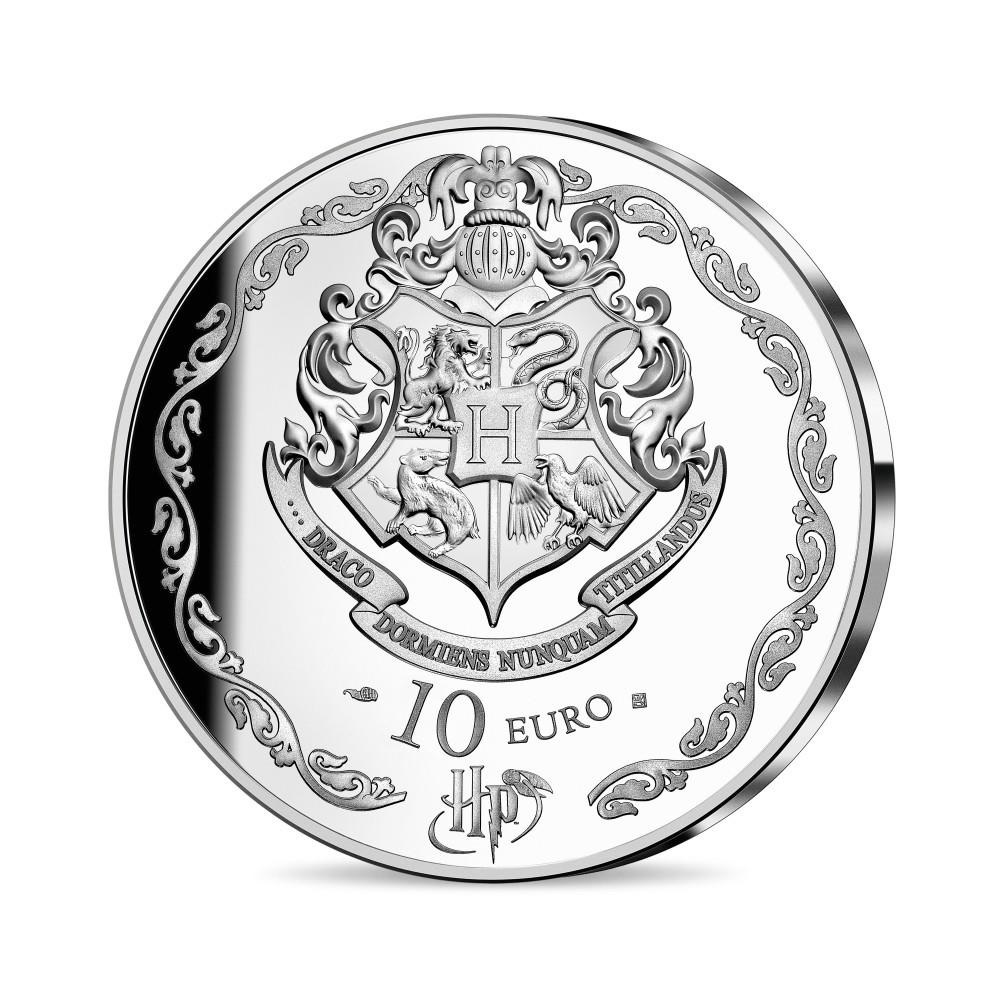 (EUR07.ComBU&BE.2021.10041344320000) 10 euro France 2021 Proof silver - Harry Potter Reverse (zoom)
