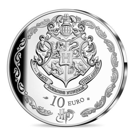 (EUR07.ComBU&BE.2021.10041344320000) 10 euro France 2021 argent BE - Harry Potter Revers