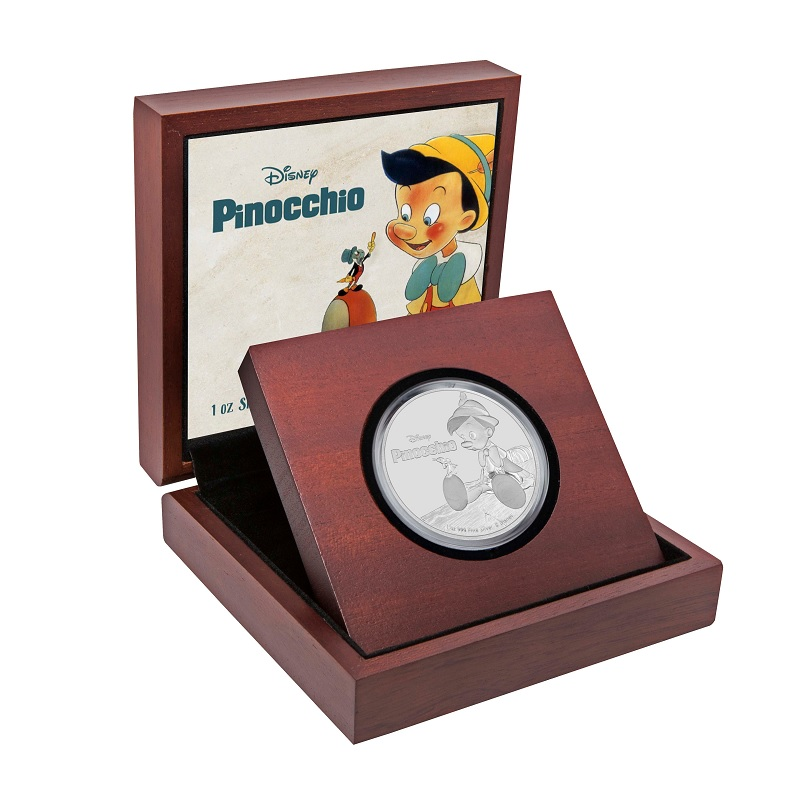 (W160.2.D.2018.30-00720) 2 Dollars Niue 2018 1 oz Proof Ag - Pinocchio (case) (zoom)