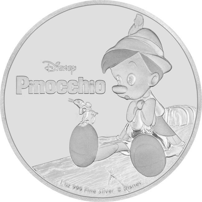 (W160.2.D.2018.30-00720) 2 Dollars Niue 2018 1 oz Proof silver - Pinocchio Reverse (zoom)