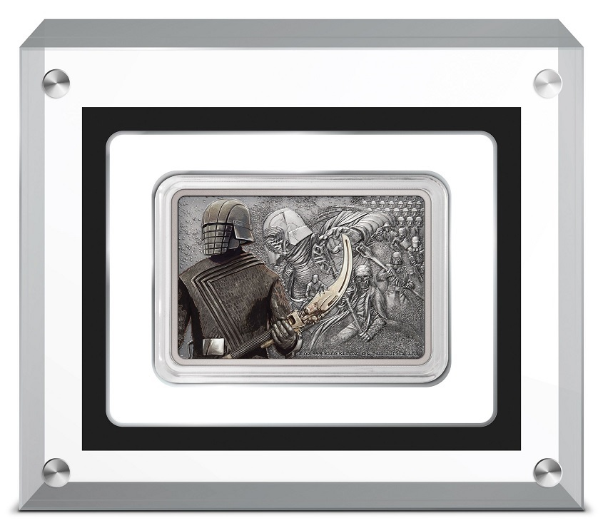 (W160.2.D.2021.30-01028) 2 Dollars Niue 2021 1 ounce Proof silver - Knights of Ren (base) (zoom)