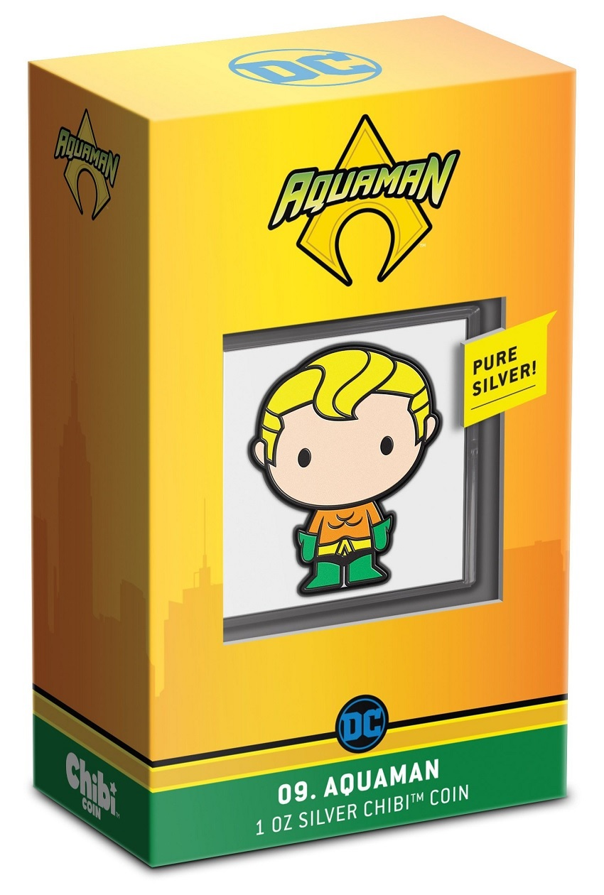 (W160.2.D.2021.30-01047) 2 Dollars Niue 2021 1 ounce Proof Ag - Chibi Aquaman (packaging) (zoom)