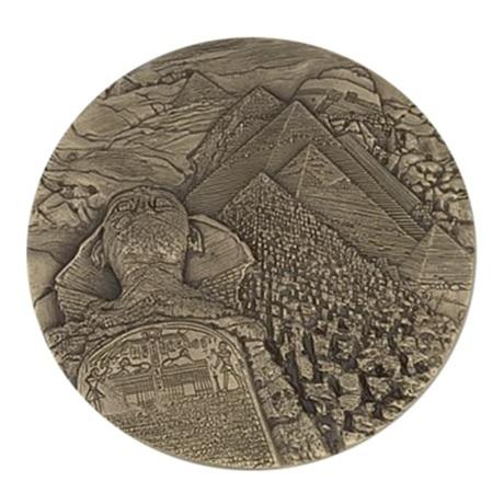 (FMED.Méd.MdP.CuSn.100110813700P0) Médaille bronze - Egypte, par Thérèse Dufresne Revers